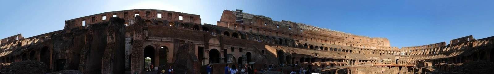 Roman Colosseum Panorama 2 2