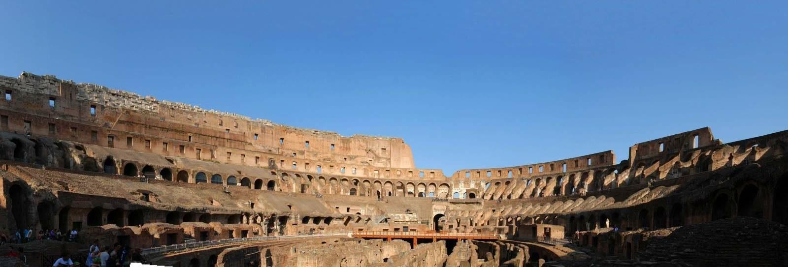 Roman Colosseum Panorama 3 2