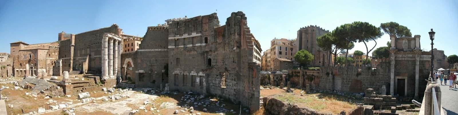 Roman Forum Panorama 2